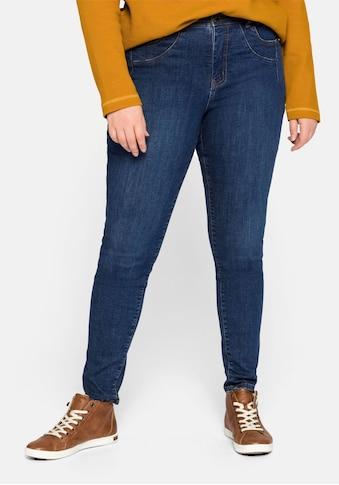 Sheego Stretch-Jeans, in elastischer Denim-Qualität kaufen