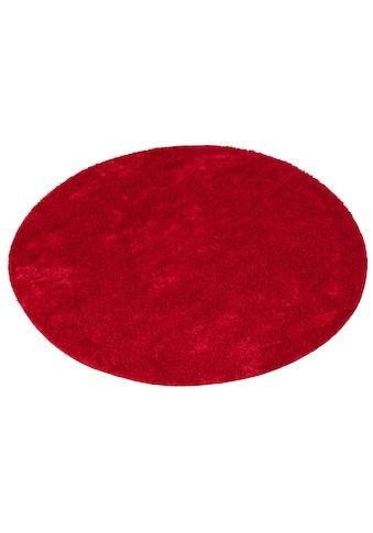 my home Hochflor-Teppich »Mikro Soft Ideal«, rund, 30 mm Höhe, Besonders weich durch Microfaser, extra flauschig, Wohnzimmer kaufen