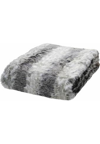 Wohndecke »Fake Fur«, TOM TAILOR kaufen