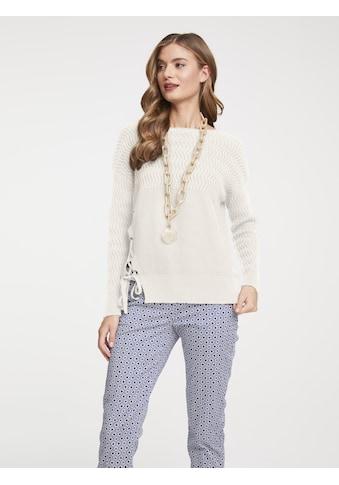 Pullover mit Schnürung kaufen