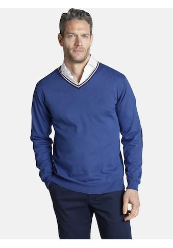 Charles Colby V - Ausschnitt - Pullover »JOYLIN« kaufen