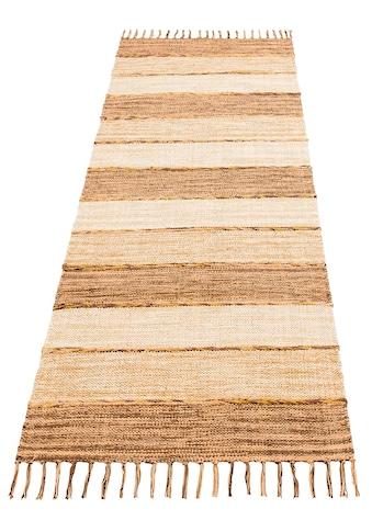 Läufer, »Priya«, Home affaire Collection, rechteckig, Höhe 6 mm, handgewebt kaufen