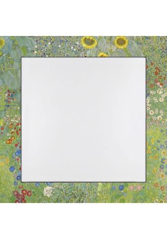 Home affaire Spiegel »Klimt, G.: Garten mit Sonnenblumen« ( 1 - tlg) kaufen