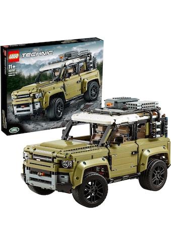 LEGO® Konstruktionsspielsteine »Land Rover Defender (42110), LEGO® Technic«, (2573 St.), Made in Europe kaufen