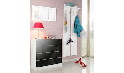 borchardt Möbel Garderoben-Set »Vaasa 3«, (Set, 3 St.), mit Push to Open-Funktion kaufen