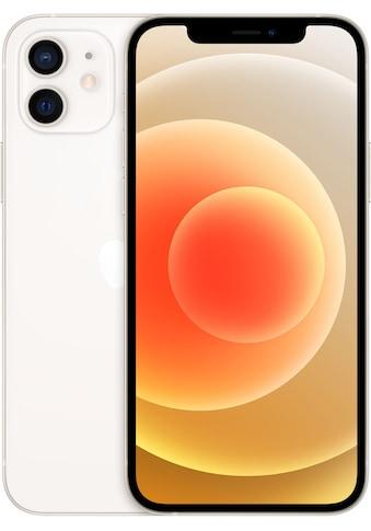 "Apple Smartphone »iPhone 12 - 64GB«, (15,5 cm/6,1 "", 64 GB, 12 MP Kamera), ohne Strom... kaufen"