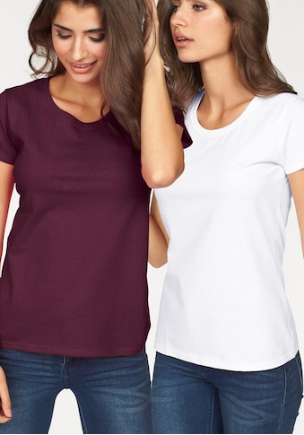 Fruit of the Loom Rundhalsshirt »Lady Fit Valueweight« kaufen