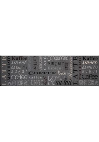 Zala Living Küchenläufer »Coffee Choice«, rechteckig, 5 mm Höhe, waschbar, rutschhemmend kaufen