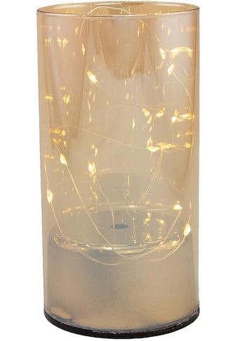 Dekolicht, Neutralweiss, aus Glas, mit 10 LEDs, Höhe ca. 15 cm kaufen