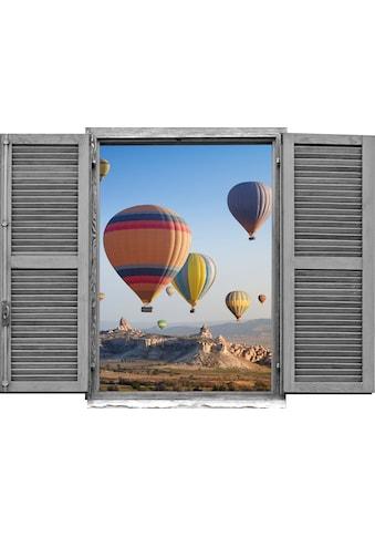 queence Wandtattoo »Heissluftballons« (1 Stück) kaufen