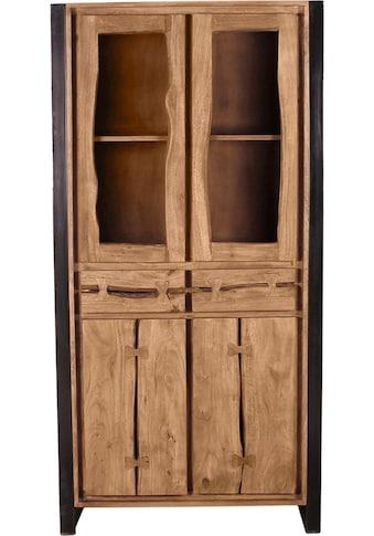 SIT Vitrine »Live Edge«, aus Akazienholz, mit markanten Baumkanten in der Front kaufen