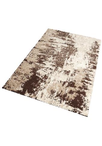 my home Hochflor-Teppich »Hannes«, rechteckig, 30 mm Höhe, Vintage Design, Wohnzimmer kaufen