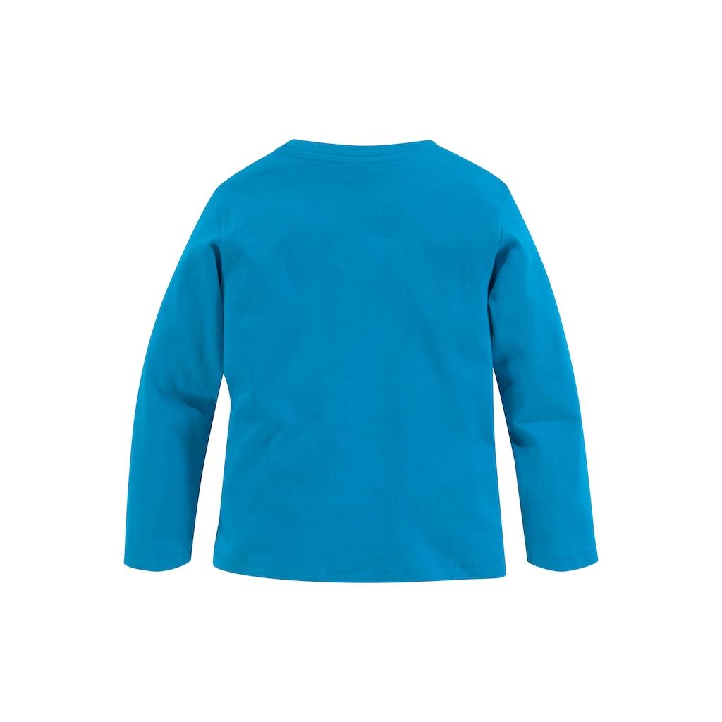 KIDSWORLD Shirt & Hose, mit lustigem Robbendruck