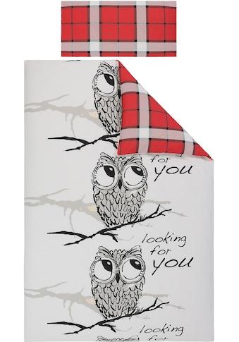 Wendebettwäsche »Owl«, my home kaufen