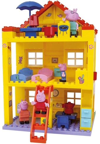 "BIG Konstruktions - Spielset ""BIG - Bloxx Peppa Pig, Peppa House"", Kunststoff, (107 - tlg.) kaufen"