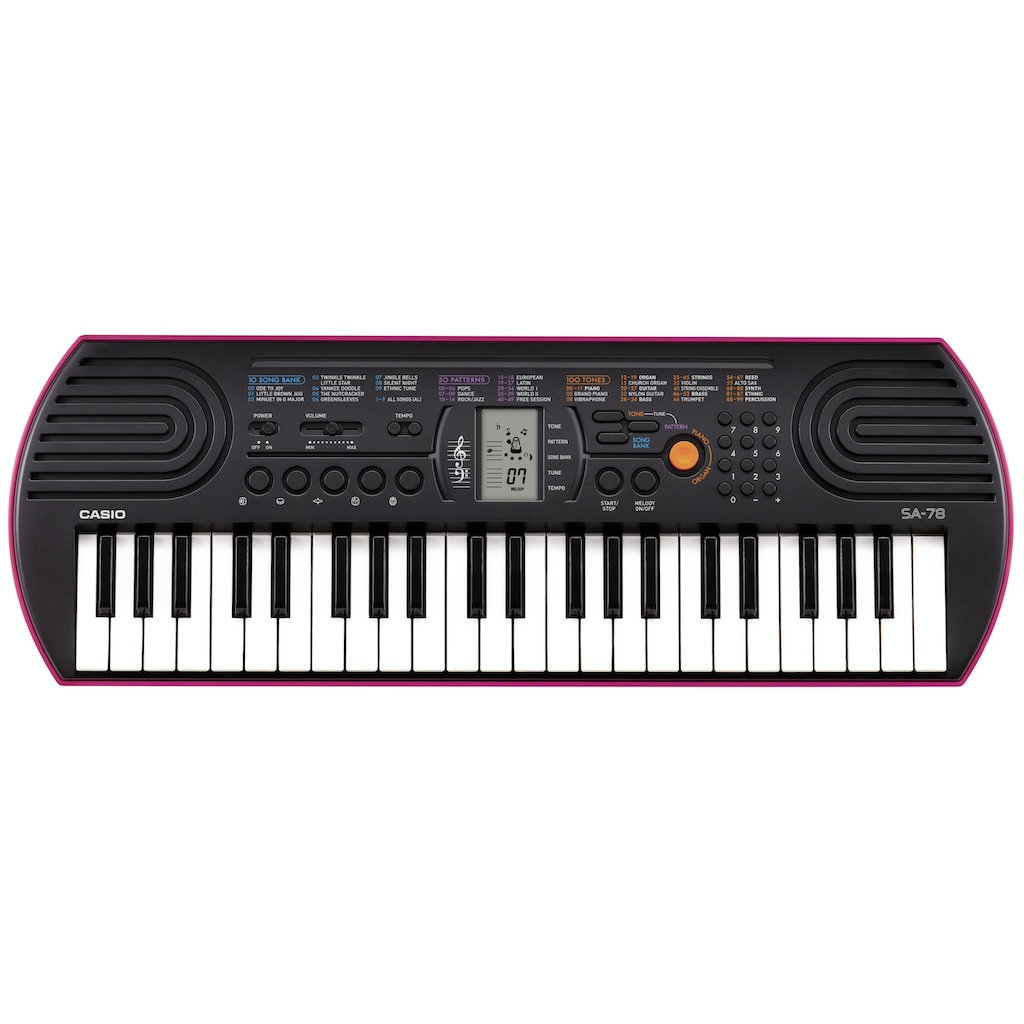 CASIO Keyboard »Mini-Keyboard SA-78«, mit 44 Minitasten
