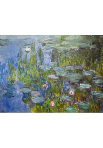 Kunstdruck »MONET / Seerosen« (auf Leinwand 80/3,5/60 cm) kaufen