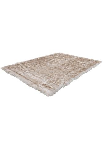 Kayoom Fellteppich »Crown 110«, rechteckig, 55 mm Höhe, besonders weich durch Microfaser, Kunstfell, Wohnzimmer kaufen