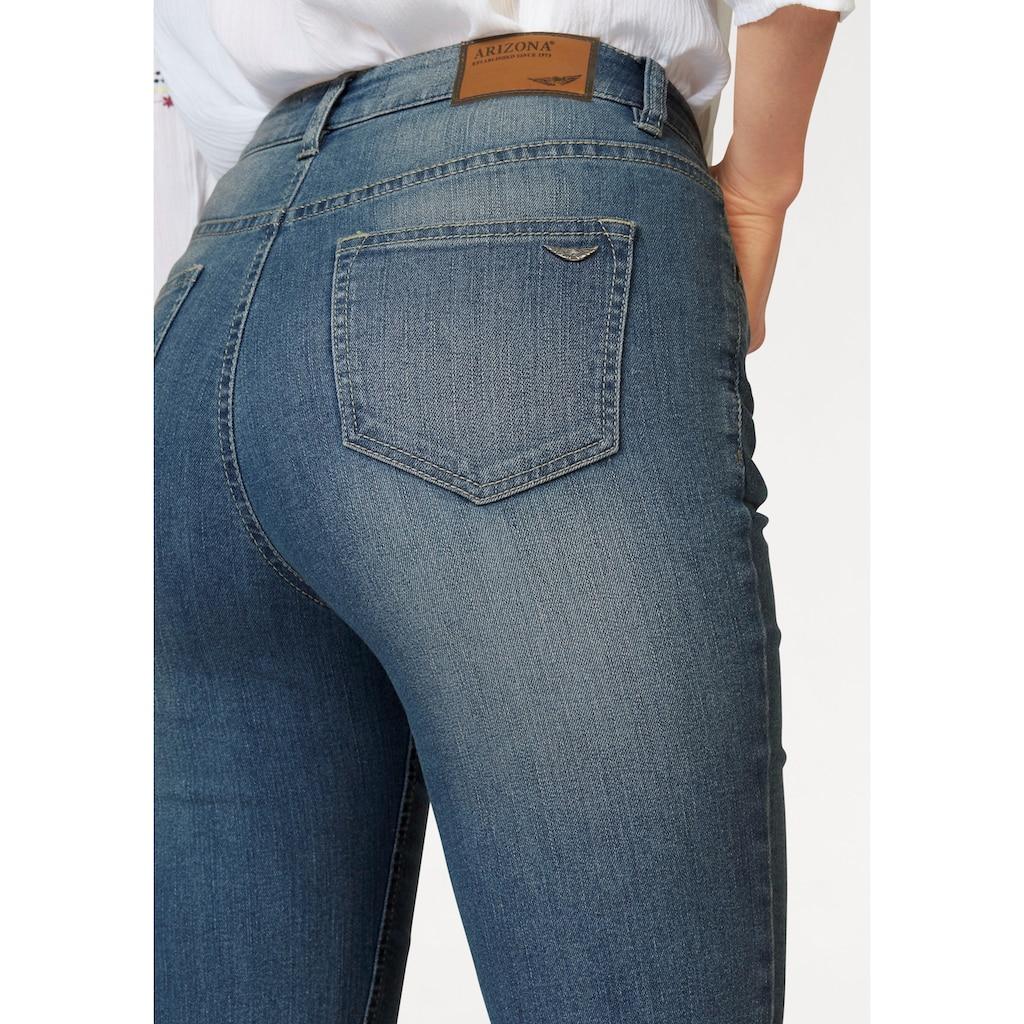 Arizona Jeansbermudas, High Waist
