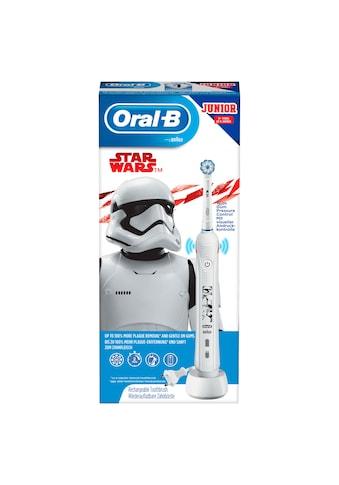 Oral B Elektrische Kinderzahnbürste »Junior Star Wars«, 1 St. Aufsteckbürsten kaufen