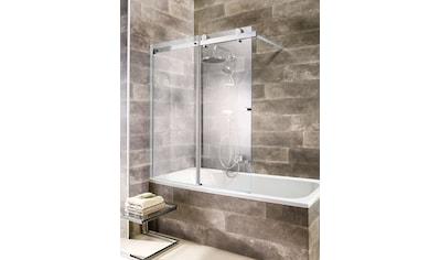 WELLTIME Badewannenaufsatz »Mauritius«, mit Schiebetür kaufen