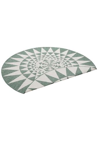 my home Teppich »Bela«, rund, 5 mm Höhe, Sisal-Optik, In- und Outdoor geeignet, Wohnzimmer kaufen