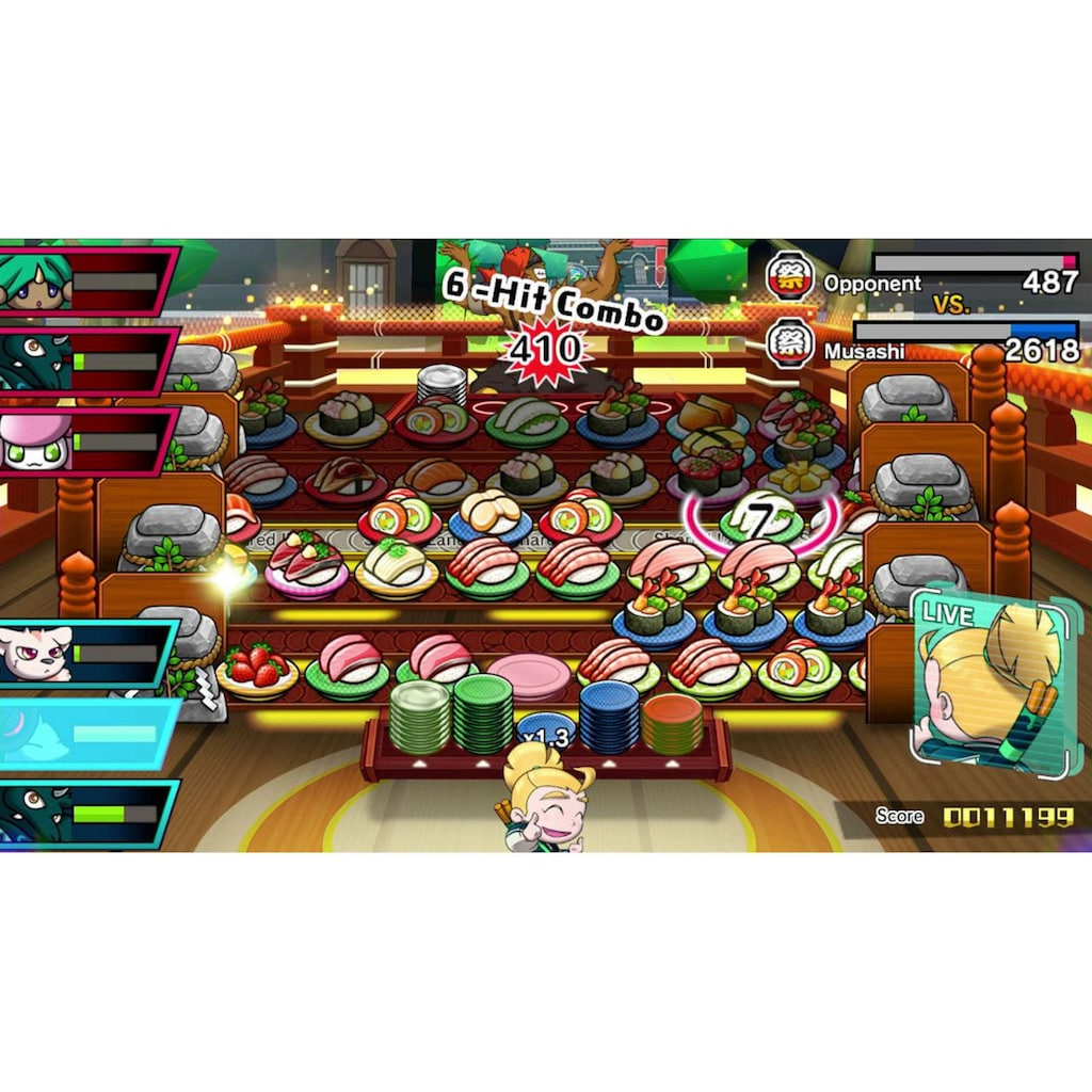 Nintendo Spiel »Sushi Striker: The Way of Sushido«, New Nintendo 3DS