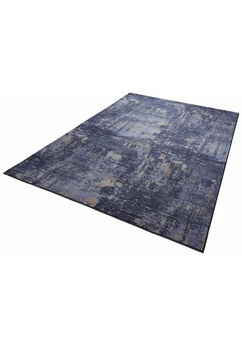 MINT RUGS Teppich »Golden Gate«, rechteckig, 10 mm Höhe, Velours, Kurzflor, Wohnzimmer kaufen
