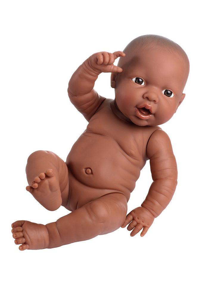 "Image of Bayer Babypuppe ""Newborn Baby Black Girl"" (1-tlg.)"