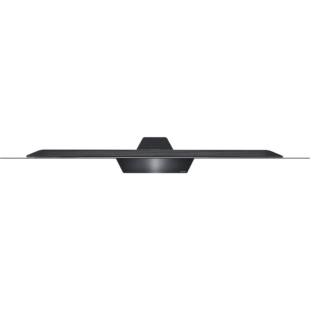 "LG OLED-Fernseher »OLED65BX9LB«, 164 cm/65 "", 4K Ultra HD, Smart-TV, Twin Triple-Tuner-Google Assistant, Alexa und AirPlay 2-inkl. Magic Remote-Fernbedienung"