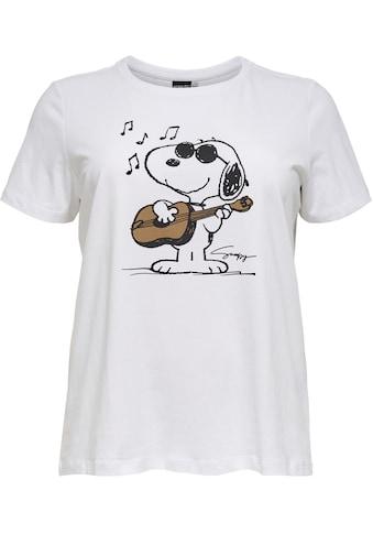 ONLY CARMAKOMA Print - Shirt »Peanuts« kaufen