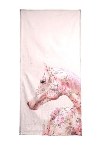 """Handtuch """"Floral Horse"""", Juniqe kaufen"""