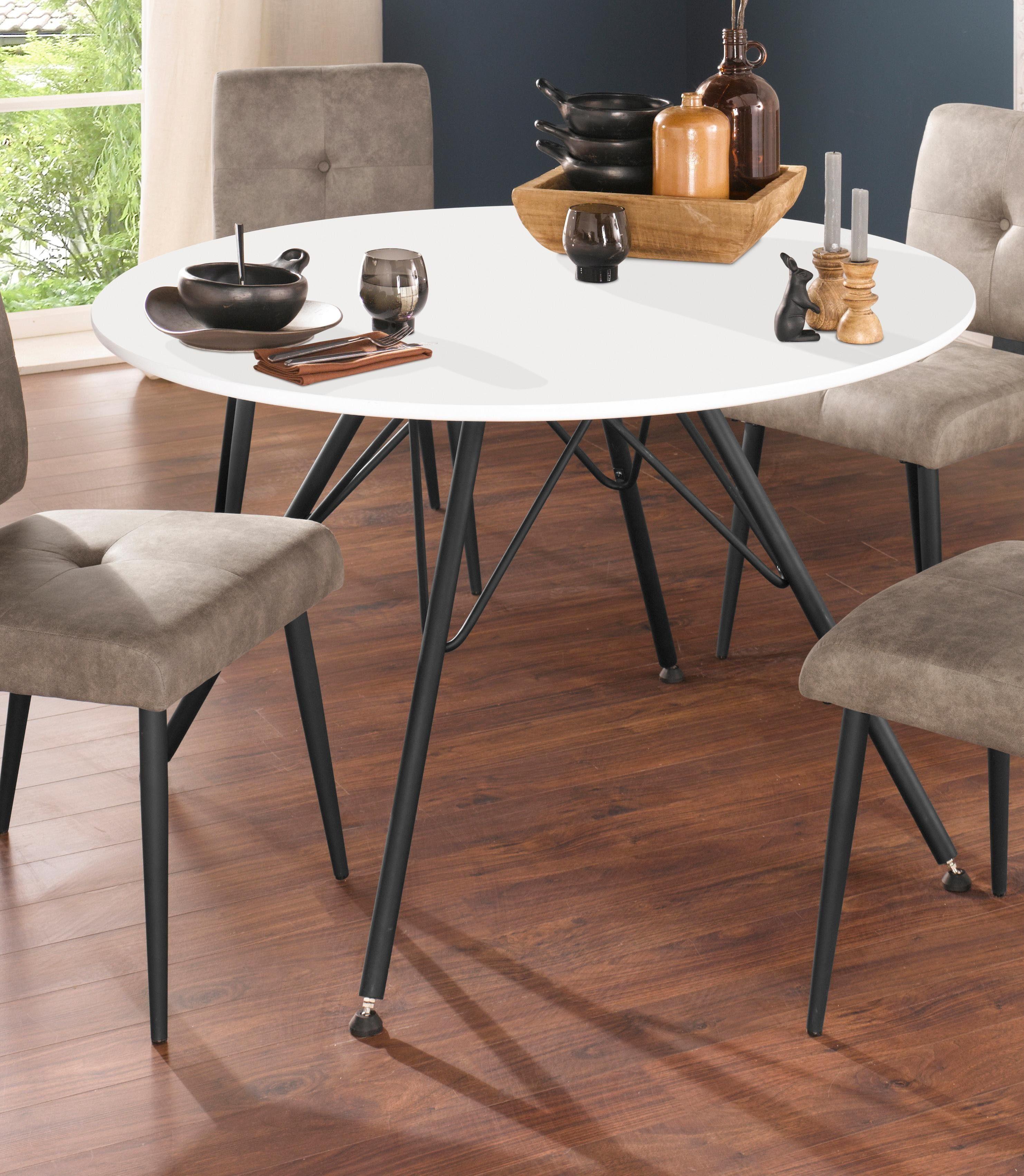 runde esstische preisvergleich die besten angebote online kaufen. Black Bedroom Furniture Sets. Home Design Ideas