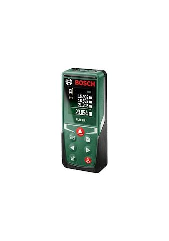 BOSCH Entfernungsmesser »PLR 25«, Einfaches Bestimmen von Längen, Flächen und Volumen... kaufen