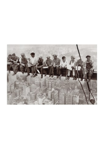 Home affaire Wandbild »Eating above Manhattan«, 90/60 cm kaufen