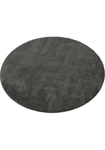 merinos Teppich »Montana«, rund, 20 mm Höhe, Wohnzimmer kaufen