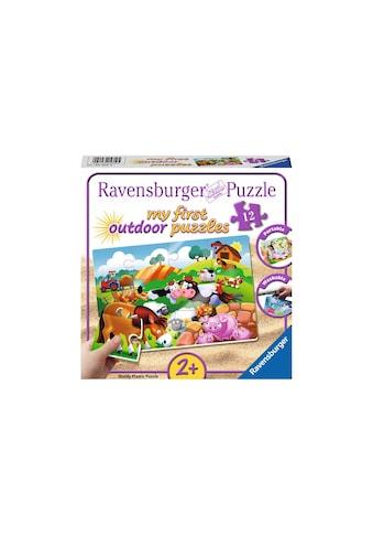 Ravensburger Puzzle »Outdoor Liebe Bauernhoftiere« kaufen