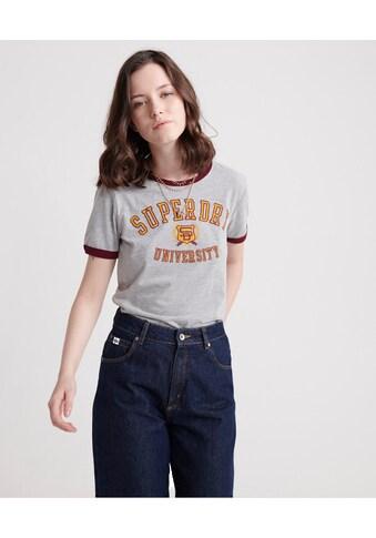 Superdry T - Shirt »SD UNIVERSITY ENTRY TEE« kaufen