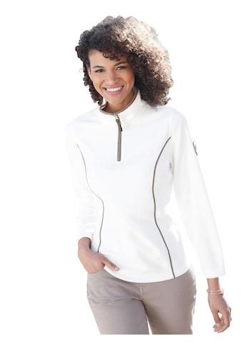 Casual Looks Fleece - Troyer mit Antipilling - Ausrüstung kaufen