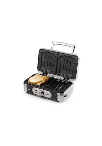 Multifunktionsgrill 3in1 Sandwichtoaster, 1000 W, Domo, »DO9136C« kaufen