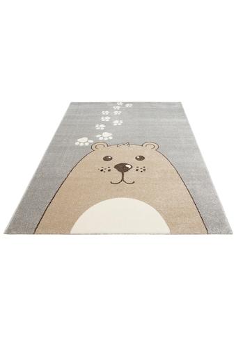 Lüttenhütt Kinderteppich »Bear«, rechteckig, 14 mm Höhe, Bären-Motiv kaufen
