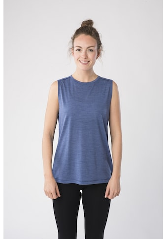 SUPER.NATURAL Tanktop »W CITY TANK«, toller Merino-Materialmix kaufen