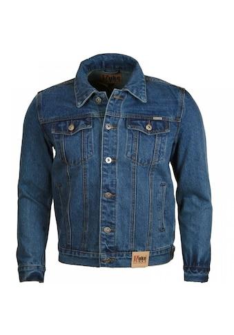 Duke Clothing Jeansjacke »Herren Western Trucker Style Denim Jacke« acheter