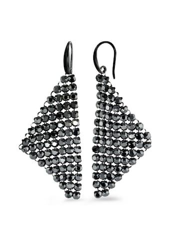 Ohrhänger Silberfarben Strass Elements kaufen