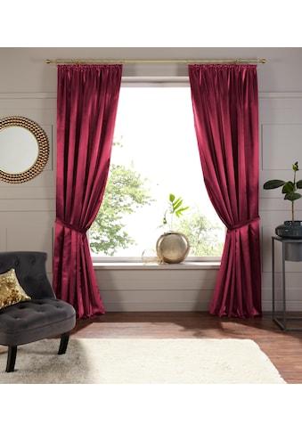 Vorhang, »Glanzsatin«, DELAVITA, Kräuselband 1 Stück kaufen