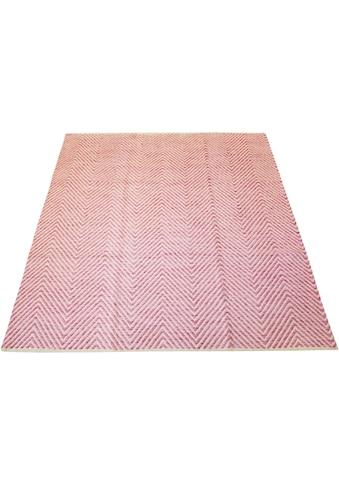 Teppich, »Kian«, andas, rechteckig, Höhe 7 mm, handgewebt kaufen
