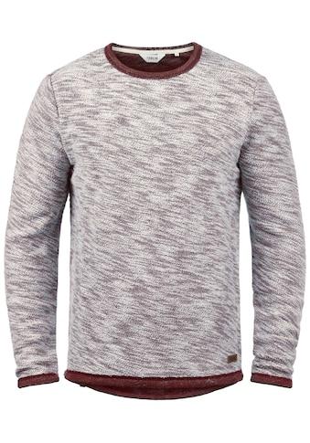 Solid Sweatshirt »Flocks«, Sweatpullover aus Flock-Sweat Material kaufen