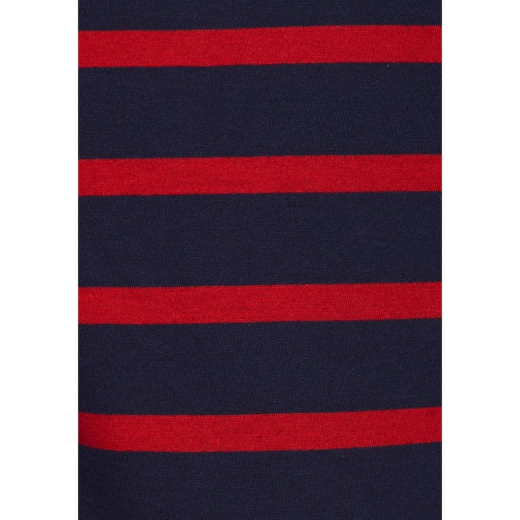 AJC Langarmshirt, im angesagten Streifenlook