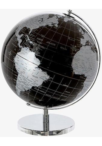 Casablanca by Gilde Dekoobjekt »Globus World, schwarz/silberfarben«, in 2 Grössen... kaufen