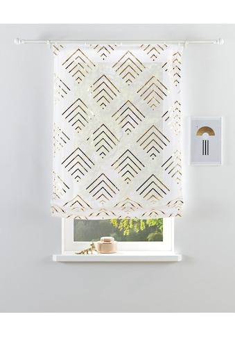 Guido Maria Kretschmer Home&Living Raffrollo »Gino«, mit Klettband, transparent, mit... kaufen